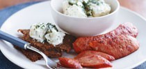 Kransky with Potato Salad